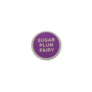 Sugar Plum Fairy Holiday Enamel Lapel Pin