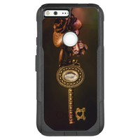 Vintage Key with Copper Charms Photography OtterBox Commuter Google Pixel XL Case