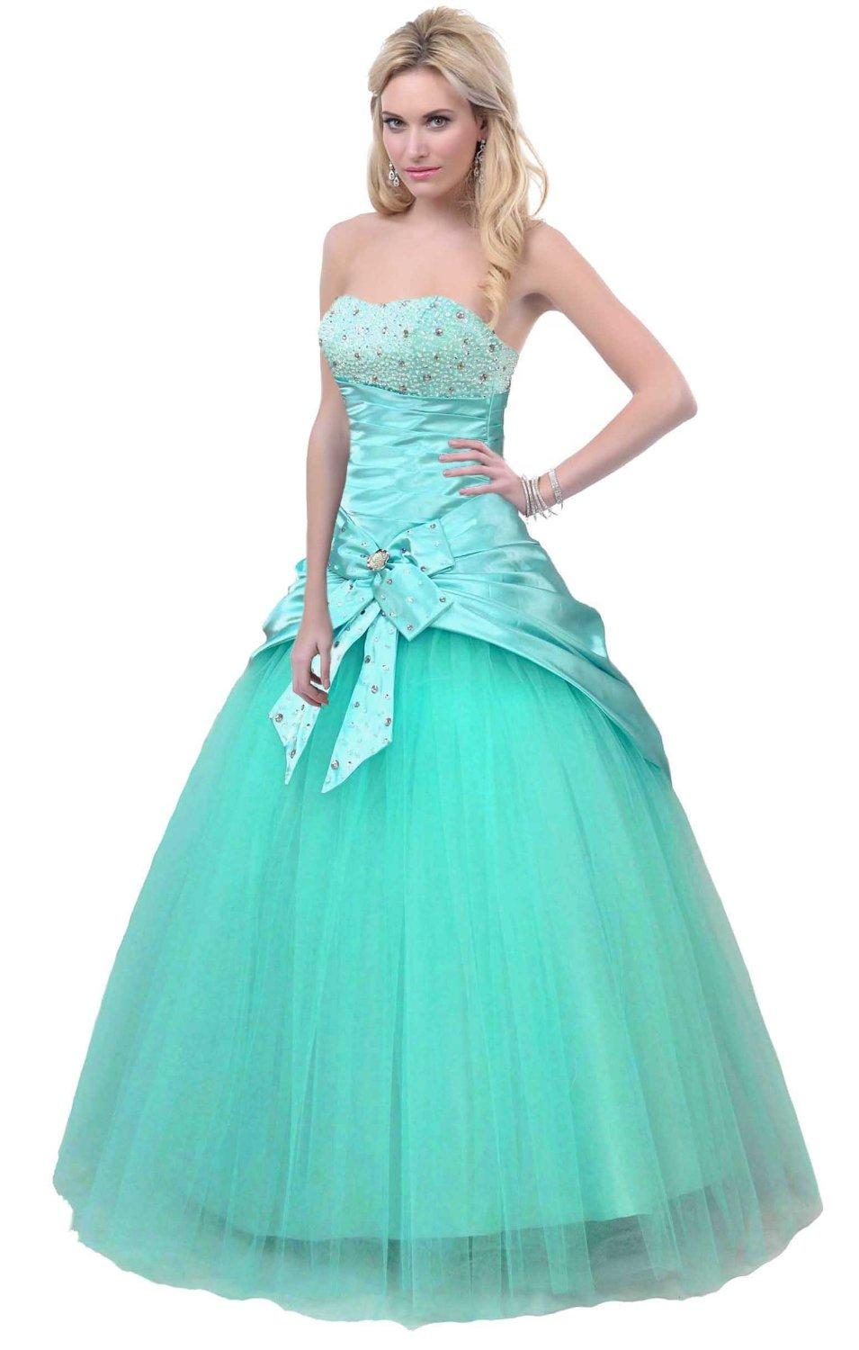 Faironly Turquoise Formal Dress Prom Gown from Amazon | Eu ... - photo #48