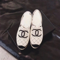 '' Chanel '' Fashion Espadrilles For Women Shoes