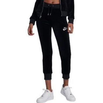 Nike Womens Velour Jogger Athletic Pants