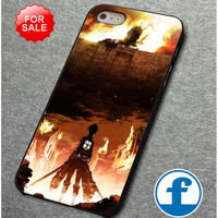 Attack on titan poster  for iphone, ipod, samsung galaxy, HTC and Nexus PHONE CASE
