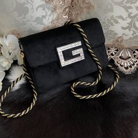 GUCCI M544242 Ophidia GG Supreme Women Shoulder Bag 2019 New  Black