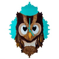 Mandy Hazell Owl Love You Baroque Clock