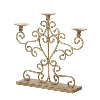 Antiqued Candelabra