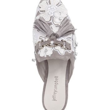 Jeffrey Campbell Ravis Flowered Loafer Mule (Women) | Nordstrom
