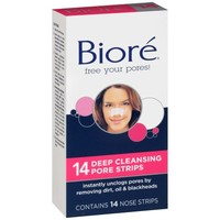 Biore Pore Strips Deep Cleansing 14 ct - Walmart.com