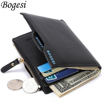 Fashion Small Luxury Famous Brand Men Wallets Male Clutch Coin Purses Walet Bag Cuzdan Money Portfolio Portomonee Pocket Vallet