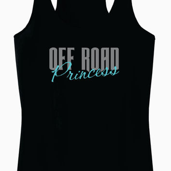 Off Road Princess Racerback Tank Top