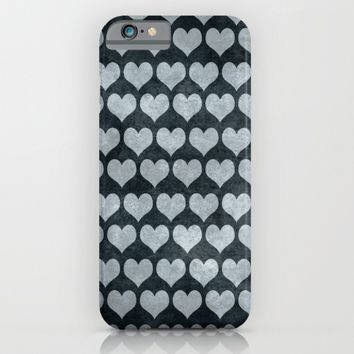Rustic Hearts  iPhone & iPod Case by Xiari