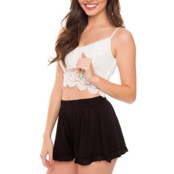 Dezra Shorts - Black