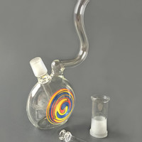 Swirly Concentrate Water Pipe Oil Rig Bubbler