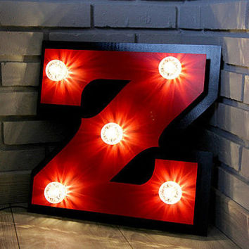 Light Up Marquee Letters With Bulbs