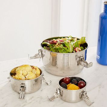 Life Without Plastic Stainless Steel Stainless Steel Food Storage Canister | Urban Outfitters