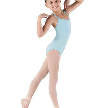 Couru Double Strap Seamed Leotard CL3667 by Bloch