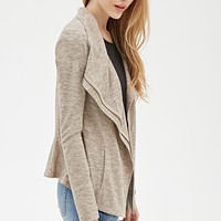 Heathered Knit Jacket