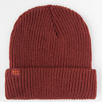 Burton Truckstop Beanie Maroon One Size For Men 26547132301