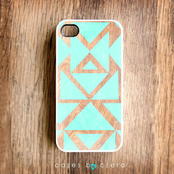iPhone 5 Tribal Case  iPhone 4S Case Rubber by casesbycsera