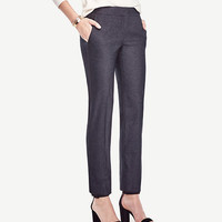The Ankle Pant in Refined Denim - Devin Fit | Ann Taylor