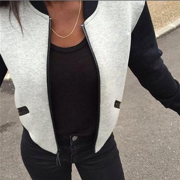 FASHION CUTE WARM PLUS THICK VELET JACKET
