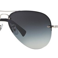 Ray Ban RB3449 003/8G Silver / Gray Gradient 59mm Sunglasses