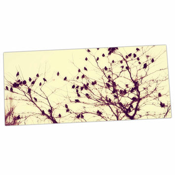 "Sylvia Coomes ""Darkness Into Light "" Green Nature Desk Mat"