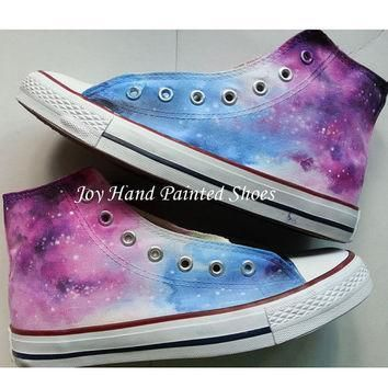 galaxy converse customizable galaxy converse shoes for women men hand painted fashion