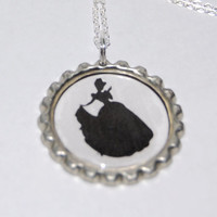 Disney Inspired Cinderella Bottle Cap Necklace