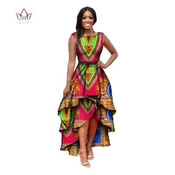 African Dashiki Dresses cotton-Multiple Colors