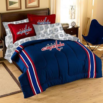 Washington Capitals NHL Bed in a Bag (Contrast Series)(Full)