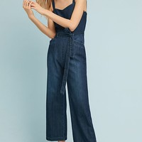 Paige Emma Cropped Flare Jumpsuit