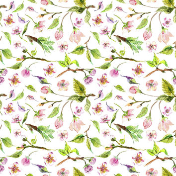 Budding Spring Removable Wallpaper