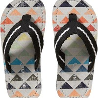 Old Navy Boys Patterned Flip Flops