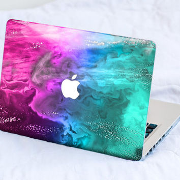 Pink Mint Clouds MacBook Decal Skin MacBook decal sticker MacBook Pro Retina Cover MacBook Air Acer Asus Dell HP Lenovo Chromebook