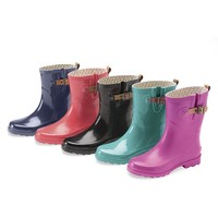 Chooka® Women's Mid-Calf Rain Boots - Plow & Hearth