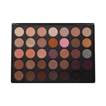 Morphe Cosmetics - 35W - 35 Color Warm Eyeshadow Palette