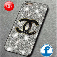 Coco Chanel Glitter Painting  for iphone, ipod, samsung galaxy, HTC and Nexus PHONE CASE