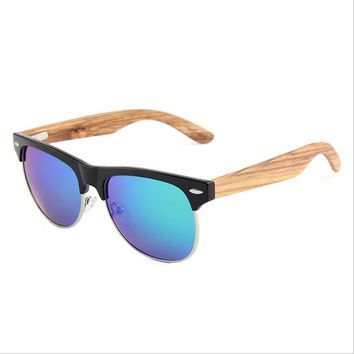 Best Selling Products 2018 Wooden Bamboo Sunglasses in USA