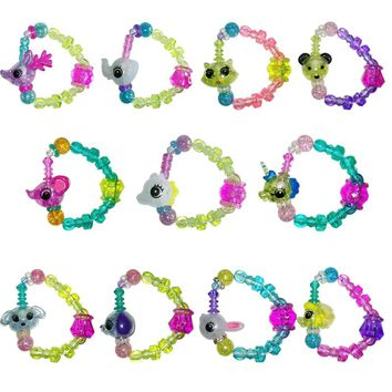 Creative Animal Elasticity Stitching Magical Bracelet,  for Women Girls