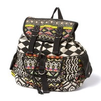 Aztec Print Backpack  | Claire's
