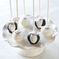 Sweet Lauren Cakes Wedding Cake Pops