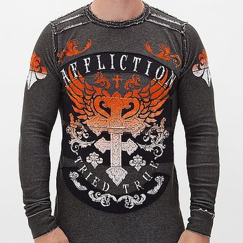 Affliction Encounter Reversible Thermal Shirt