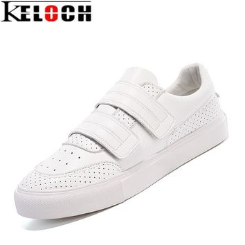 Keloch Women Casual Shoes Comfortable Platform Shoes Creepers For Women Pu Leather Loa