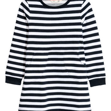 Sweatshirt Dress - from H&M