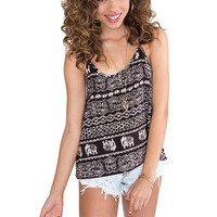 Tribal Aztec Top