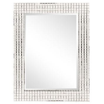 "Howard Elliott Disco Tiled Mirror 29.1/2"" x 39"" x 2"""