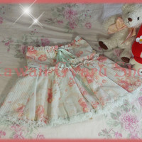 Liz Lisa / My Melody 2013 Collaboration Butterflies and Roses Sukapan / Skirt-Pants (NwoT)