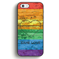 Lgbt Same Love Rainbow Flag iPhone 5|5S Case | Aneend