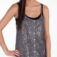 Daytrip Sequin Front Tank Top - Women's Shirts/Tops | Buckle