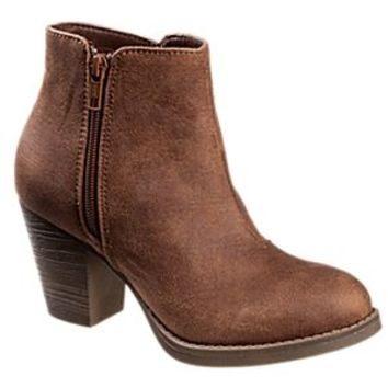 Natural Reflections Clarissa Ankle Boots for Ladies - Whiskey